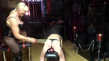 torture femdom extreme needle cbt Mistress ball box