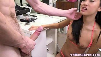 doggystyle scream amateur Butt plug femboy
