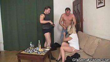 hairy mature woman Precum and cum condom