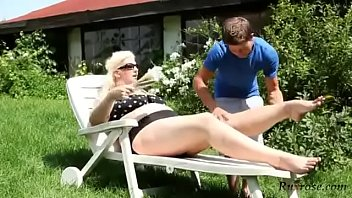 bbw mature ride young Indian lily fucking video