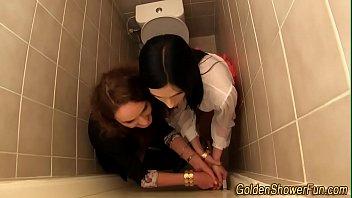 lesbian contest pee Skinny black booty shake