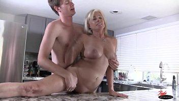 milf sexy anal has sex with salke Cum in wifes bra drawer