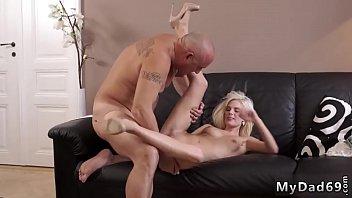 of strapon pussy full gets blonde Latin men stripper