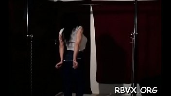 bound anime rape Petite chick stretched by bbc