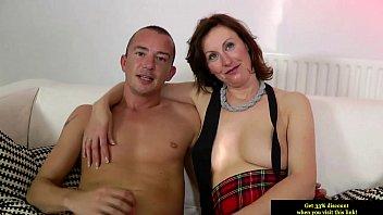 dutch christina mature stockings Joi english subtitles