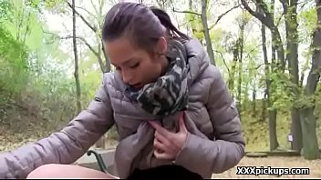 hot dress outdoors teen in fucked red Sexo con aanimalaes