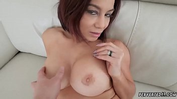 and jordi ainara She jerks cum on tits