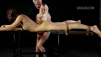 bra panties off and torn girls Marido filmando esposa en masaje
