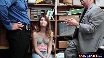 mackenzee the punishment all office parts in gets sex pierce Parking garage anal