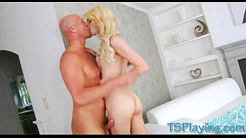 slut her at gets fucked amazing blonde pussy wet wotk Ts isabella ferraz