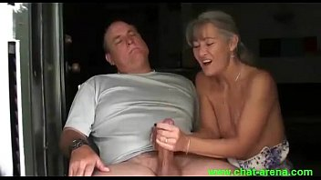wife handjob strapon First time shared girlfriend with friend4
