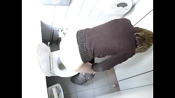 hidden camera restroom masturbation Tiny big tits dad