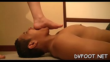 little man dominates girl big Brooklyn bodywrecker feet