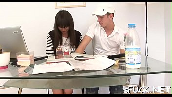 for of xhamster friend b 2 came sister Asian orgy threesome ffm