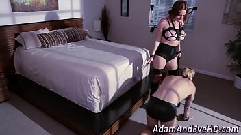 glamorous with erotic lesbian babes face sitting Wife fist husband asshole