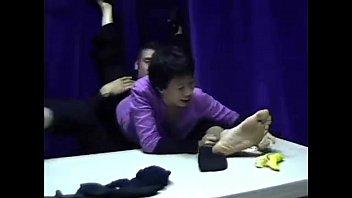 male woman licks feet Uncensored slave japanese