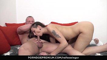 balls enjoys anal a deep babe sex Girlfriend creams on cock