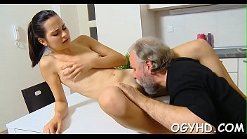 rape lesbian young seduction old Slut gets mouth stretched wide