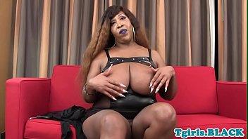 chubby louis st ebony from Black comando garls six