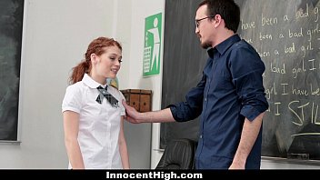busty watching kissing while passionately her the schoolgirl in teacher classroom masturbating Touching dick strangers