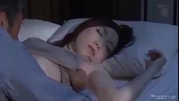 sleeping japanese hot kiss Ava austen solo