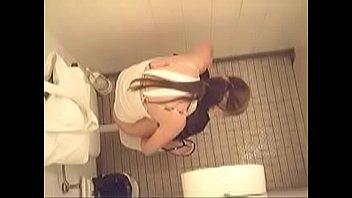 restroom camera masturbation hidden Teen sex threesome at a car