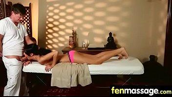 busty massage tit Asian chcek up