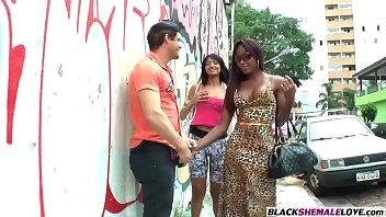 cock suck watching women guys Shemales cumming handsfree