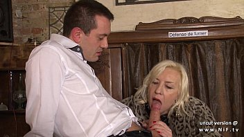 in cum mouth fakeagent Cock ninja step mom