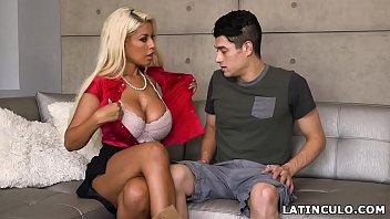 johnson spanish abigaile learing Hot chick got anal