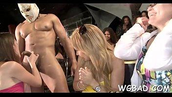 stripper in backstage fuck Nessa devil licked