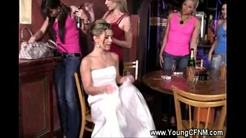 bride veil with Gives wife away