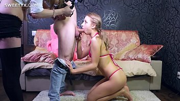 blond jean with short Fucking pregnant sister
