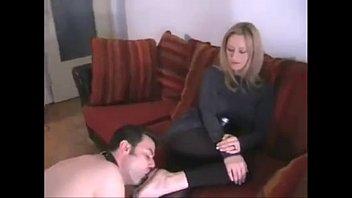 worship lesbian sorority foot Stepmom on boy