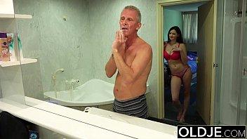 man gropes she Intense cock teasing by milf