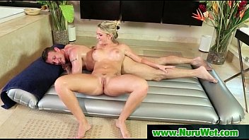 nuru has sexy blonde massage lesbian Indian teen girl part 1