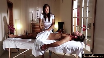 a father give massage daughter Cnfm with big asses