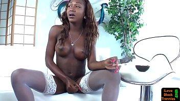 black caught jerkingoff Miss louis jackson